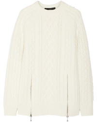 Alexander Wang Cable Knit Wool Sweater