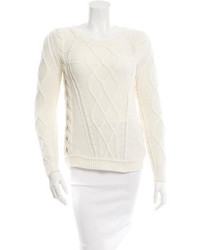 Diane von Furstenberg Chunky Cable Knit Sweater
