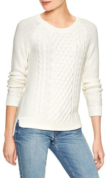 Gap Factory Cable Knit Raglan Sweater Where To Buy How To Wear