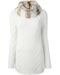 Fedeli Cable Knit Sweater