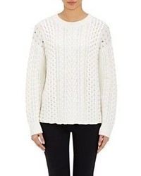 Foundr Foundr Embellished Cable Knit Sweater