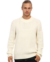 French Connection Huntsman Solid Cable Knit Sweater