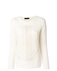 Fabiana Filippi Jumper With Scalloped Trim