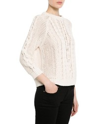 Mango Outlet Cable Knit Sweater