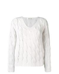 Lamberto Losani Patterend Knit Sweater
