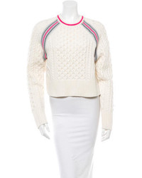 Alexander Wang T By Cable Knit Sweater W Tags