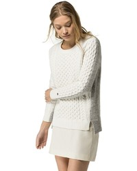 Tommy Hilfiger Cableknit Colorblock Sweater