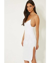 Forever 21 Mlm Cami Side Slit Dress