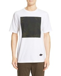White Camouflage Crew-neck T-shirt