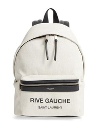Saint Laurent City Mini Rive Gauche Backpack
