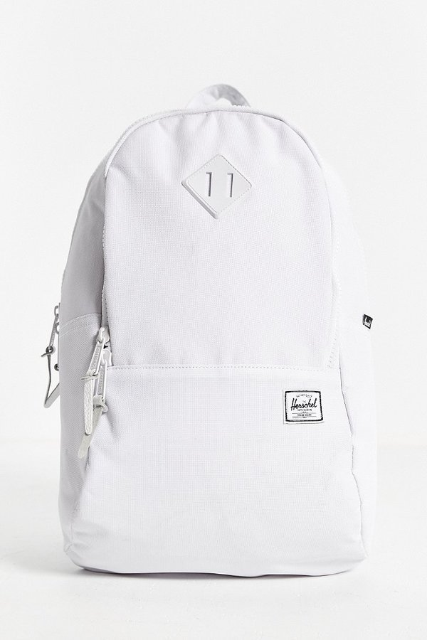 7c38abdaead ... Urban Outfitters › Herschel › White Canvas Backpacks Herschel Supply Co  Nelson Mono Backpack ...