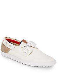 Ben Sherman Smith Canvas Boat Shoes