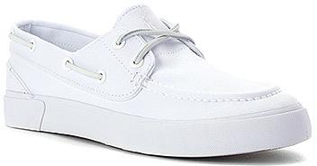 ralph polo by sander p boat shoe white where