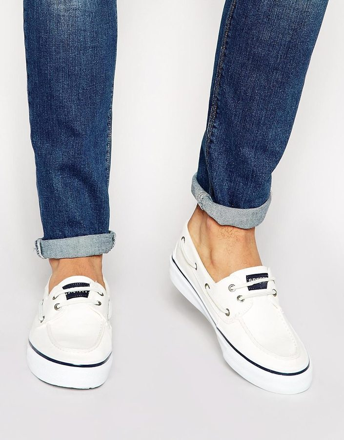 Sperry Topsider Bahama Boat Shoes, $108