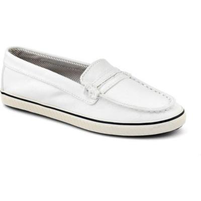 sperry topsider shoes cloud logo loafer