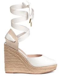 H&M Wedge Heel Espadrilles