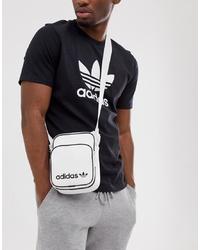 adidas Originals Flight Bag In White