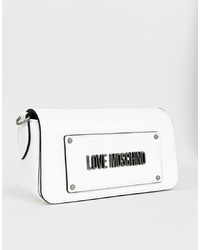 Love Moschino Logo Bumbag With Canvas