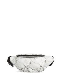 Jane & Berry Marble Print Belt Bag