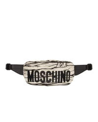 Moschino Off White Mummy Waist Bag