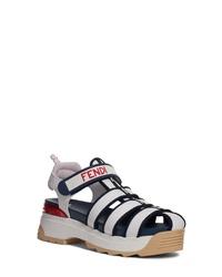 Fendi T Rex Platform Sandal
