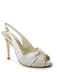 Bridal by butter bridal by butter textile slingback sandals shoes newdisplay medium 67193