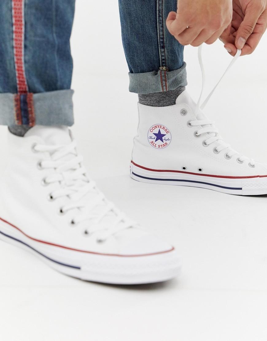 aliexpress busca lo último material seleccionado Converse Chuck Taylor Hi Plimsolls In White M7650c, $69 | Asos ...
