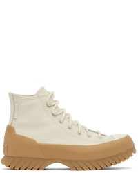 Converse Off White Chuck Taylor Lugged High Sneakers