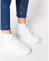 Vans Sk8 Hii Sneakers In White