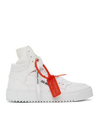 Off-White White Canvas Off Court 30 Sneakers