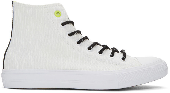 9f46d170eea4 ... Canvas High Top Sneakers Converse White Reflective Chuck Taylor All  Star Ii High Top Sneakers ...