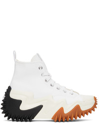 Converse White Run Star Motion High Sneakers