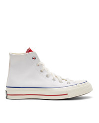 Converse White Varsity Remix Chuck 70 High Sneakers