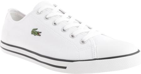 bc5d70f83665c1 Lacoste L27 Navy Canvas Lace Up Shoes