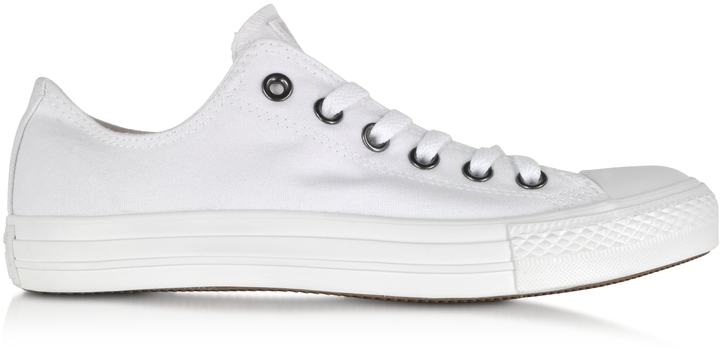 ... Converse Limited Edition White Monochrome Chuck Taylor All Star Lo  Canvas Sneaker ... 3c70f2c4c