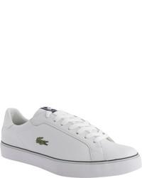 Lacoste Marling Low Blackdark Grey Canvas Sneakers