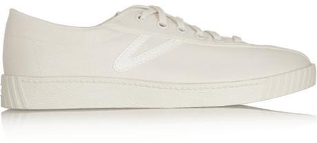 1c5dda27b Tretorn Nylite Canvas Tennis Sneakers, $75 | NET-A-PORTER.COM ...