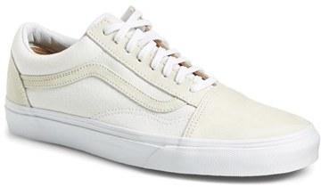 7cd9ef26b497e5 Vans Old Skool Suede Canvas Sneaker