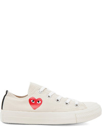 Comme des Garcons Play Converse Canvas Sneakers