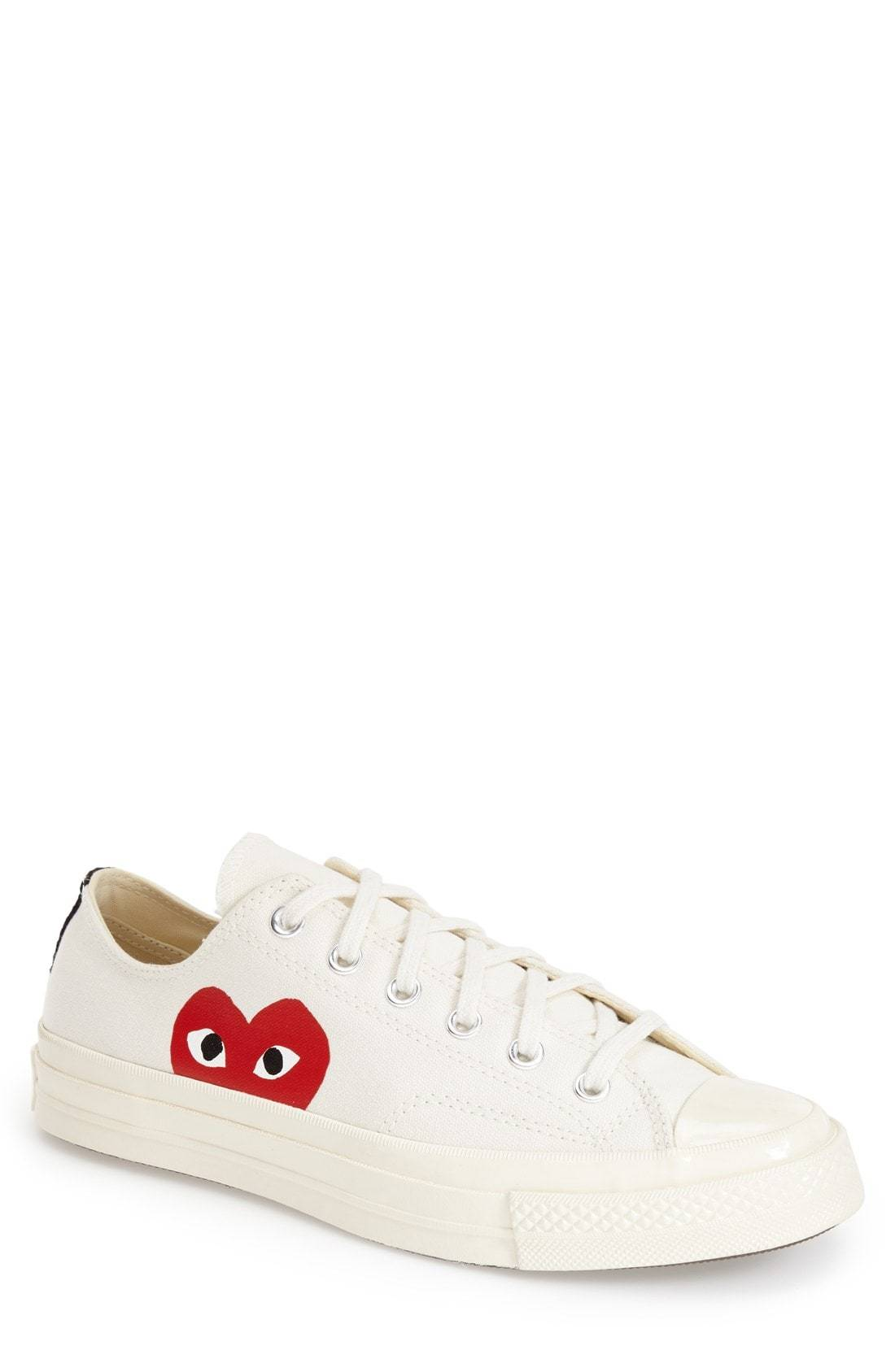 7b7b9fc699343 ... Comme des Garcons Play X Converse Chuck Taylor Low Top Sneaker