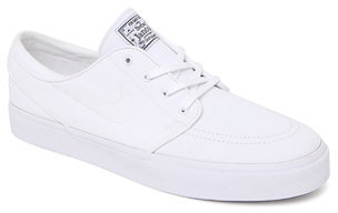 3c353420c1a ... Nike Sb Zoom Stefan Janoski Canvas White On White Shoes ...