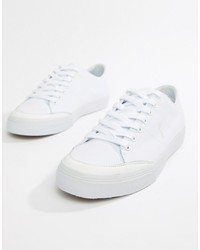 6bb9faf8f51d0b Men's White Canvas Low Top Sneakers by Polo Ralph Lauren | Men's ...