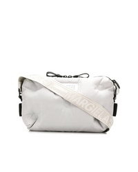 White Canvas Messenger Bag