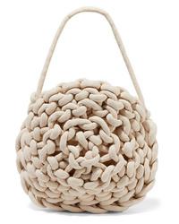 Alienina Ida Woven Cotton Shoulder Bag