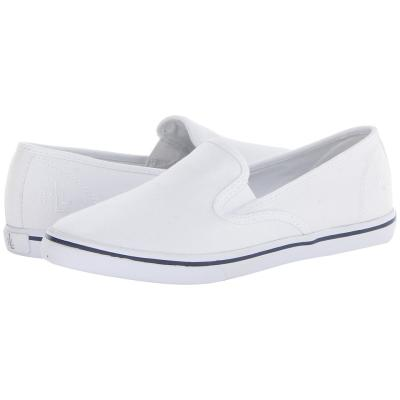 ... Sneakers Lauren Ralph Lauren Janis Slip On Shoes Rl White Canvas