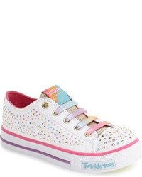 Skechers Twinkle Toes Shuffles Light Up Sneaker