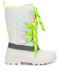 DSQUARED2 Ski Fluo Sonar Lace Up Boots