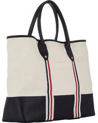 d10e70f80d Thom Browne Beach Bag, $760 | Barneys Warehouse | Lookastic.com