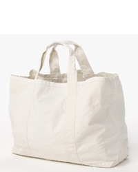 James Perse Large Canvas Tote | Where to buy & how to wear