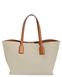Logo canvas shopper ivory medium 1248553